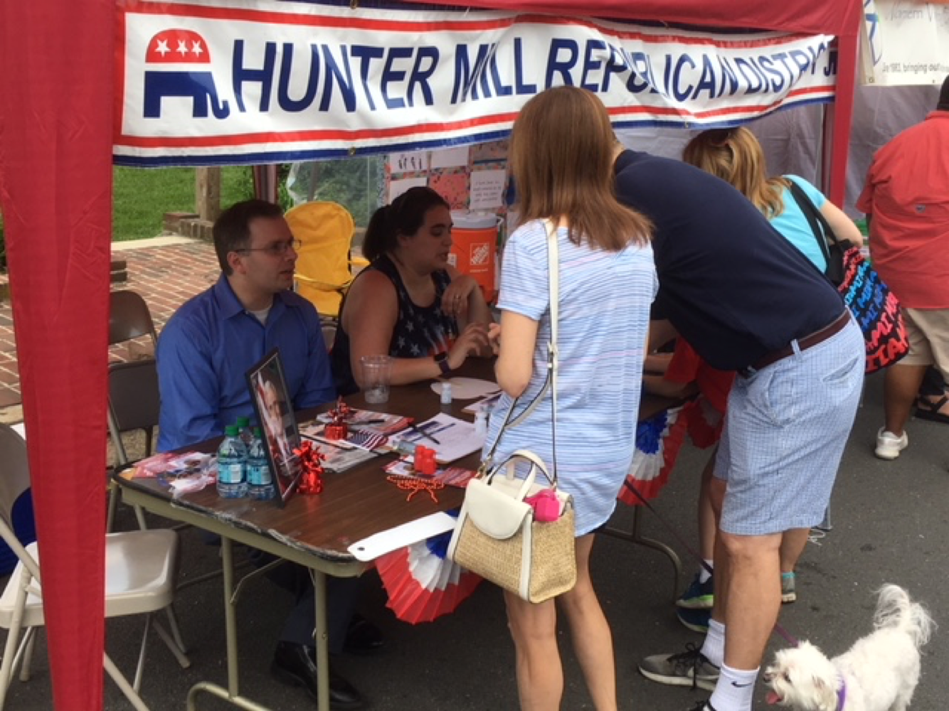 Congratulations to the Hunter Mill Republicans for signing up over 100 volunteers at their ViVa! Vienna!* tent over the Memorial Day Weekend. District Chairman Amanda Morris organized a team of 17 volunteers to staff the Republican tent, which was located midway down Vienna's Church Street in the heart of the celebration. Along with those who signed up to help the Republican Party, hundreds of ...