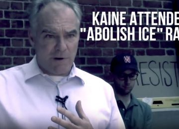 Corey Stewart Releases TV Ad Blasting Tim Kaine for Attending an Abolish ICE Rally