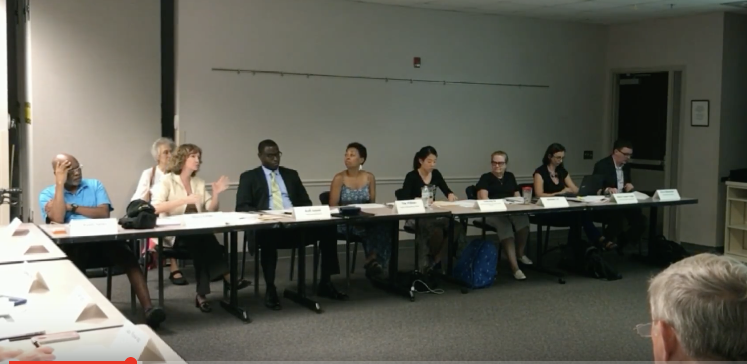 Videos of Sharon Bulova's Community Review Committee 7/9 Meeting: School Resource Officer Memorandum of Understanding