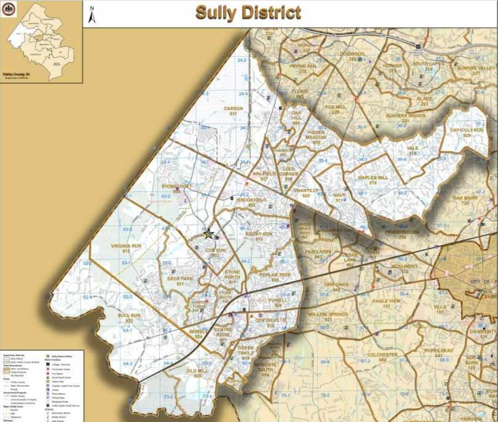 Fairfax County Gov - Sully District