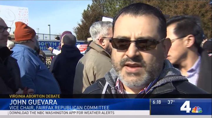 NBC Interviews Fairfax GOP Vice Chairman