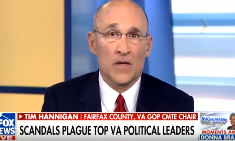 Fairfax GOP Chairman Tim Hannigan was on The Ingraham Angle Friday night