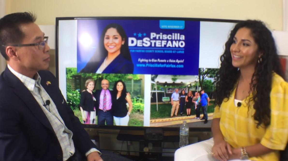 Video Podcast: Priscilla DeStefano for School Board