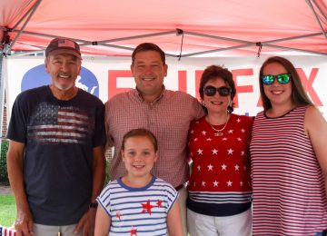 Candidates Fan Out Across Dranesville on July 4th