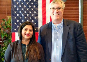 Palle for Supervisor Rally Draws 250 Supporters