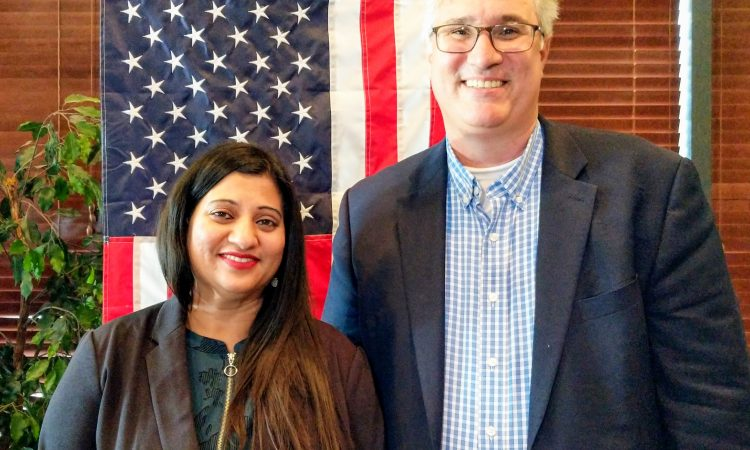 GOP nominee for Sully District Supervisor Srilekha Palle rallied 250 supporters at TEZ Indian-American Restaurant on Saturday in Fairfax County.