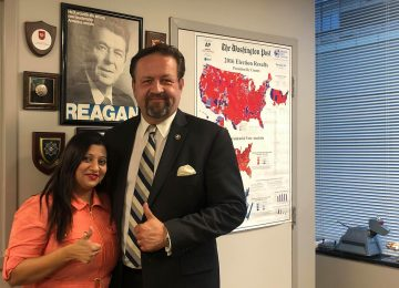 ICYMI: Srilekha Palle on Sebastian Gorka's National Radio Program