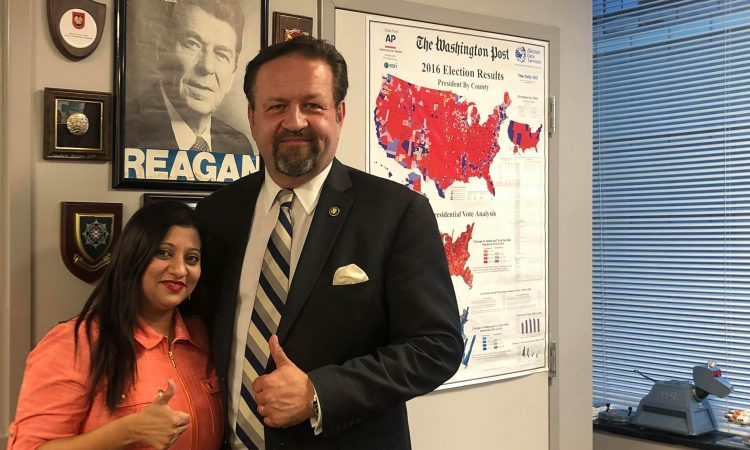 Srilekha Palle, Fairfax GOP nominee for Sully District Supervisor, was interviewed by nationally syndicated radio talk show host Sebastian Gorka on Friday. Palle vowed to put taxpayers first and restore fiscal discipline to Fairfax County government
