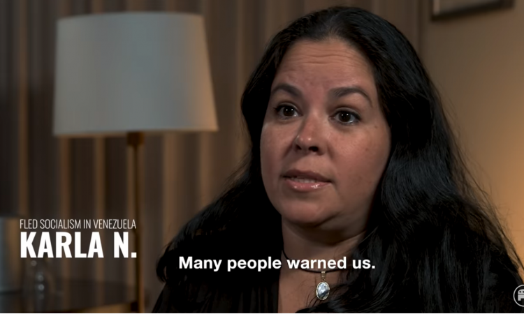 "The Republican National Committee (RNC) has launched a new video series, focused on the victims of socialism in Venezuela. ""Democrats want to bring socialism to America,"" the RNC notes. ""They are offering"