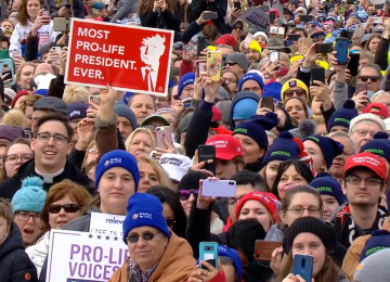President Trump Addresses 47th Annual March for Life