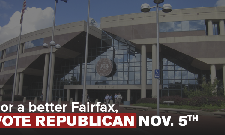 Democrats have mismanaged Fairfax County for years. And the results are in: higher taxes, bloated budgets, more traffic, gang violence, and schools that brazenly disregard family values. But it doesn