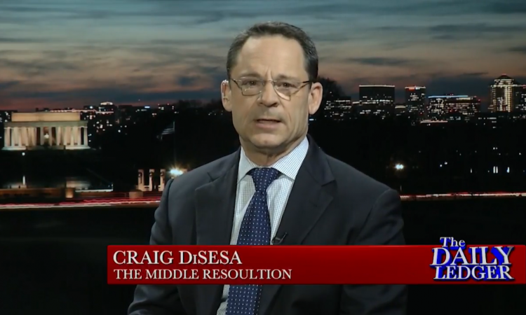 Craig DiSesa, president of The Middle Resolution, will headline January