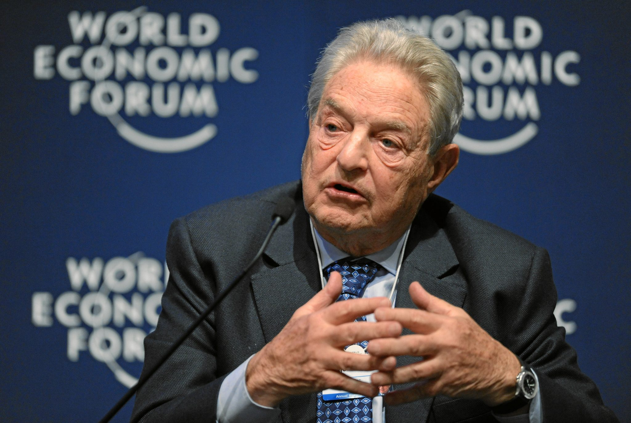 George Soros is 89 years old, but by gosh, before he dies, he's going to see to the internal destruction of America.  At least that's how it seems