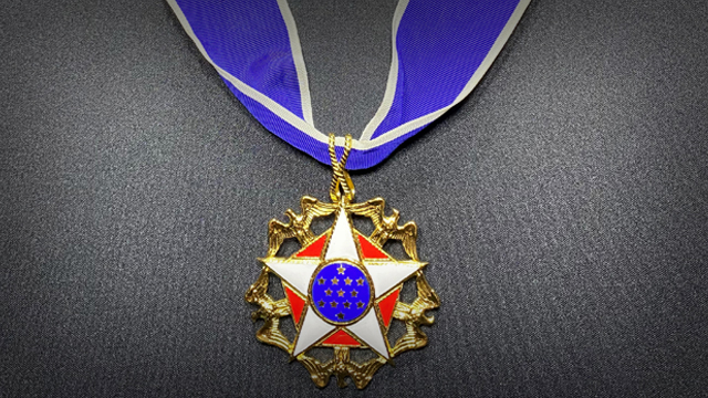 Mr. Limbaugh was awarded the Presidential Medal of Freedom -- our nation