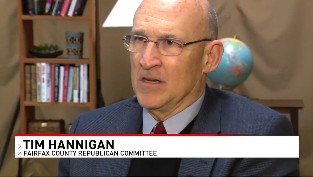 Fairfax GOP Chairman Tim Hannigan was on ABC 7 News Friday, criticizing bills in the Virginia legislature that would grant in-state tuition to illegal aliens. Subsidizing tuition for illegal aliens invariably means higher costs for citizens and legal immigrants
