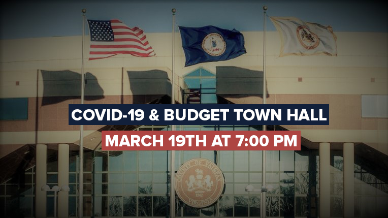 COVID-19 & Budget Town Hall (TV/Online)
