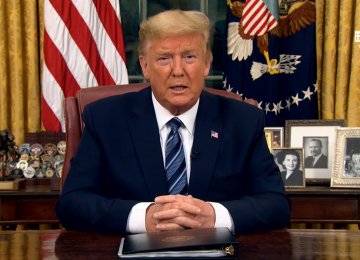 Remarks by President Trump in Address to the Nation