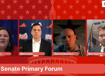 VIDEO: Fairfax GOP Hosts U.S. Senate Candidates Forum