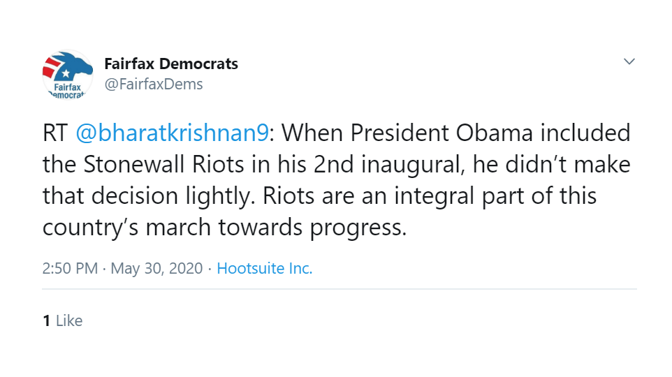 LISTEN: Steve Knotts Slams Fairfax Dems' Pro-Riot Tweet