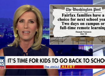 WATCH: Laura Ingraham Blasts Fairfax County Public Schools