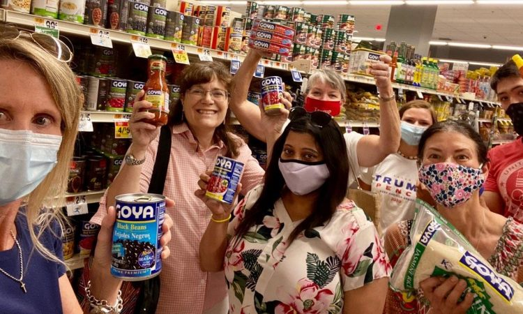 "The Fairfax GOP launched a ""Goya Food Drive"" over the weekend, with more than 200 items already collected as of Sunday, July 12. The drive will run through Sunday, July 19, after which all items will be donated to a local food bank. Left-wing agitators called for a boycott of Goya Foods after CEO Robert Unanue hailed President Donald Trump"