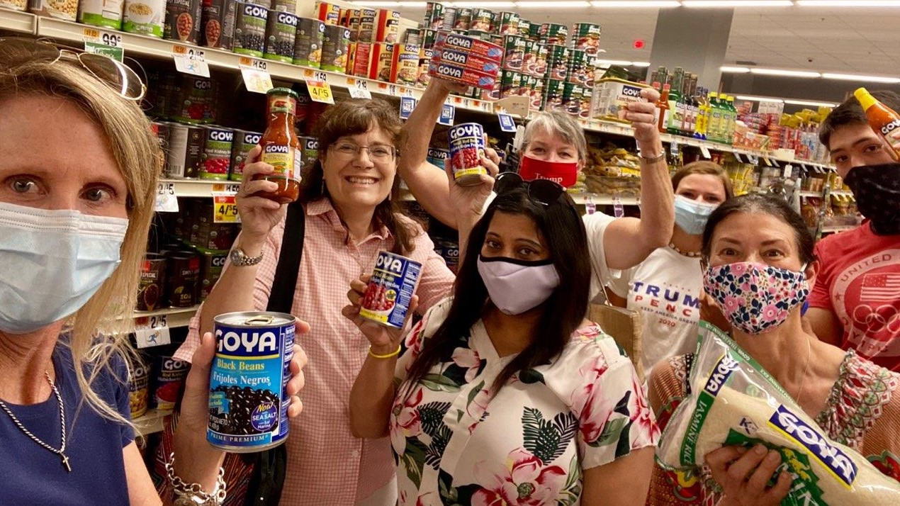 Fairfax GOP Launches Goya Food Drive