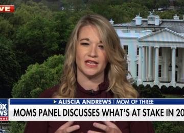 "WATCH: Aliscia Andrews Talks ""Mom Vote"" on Fox & Friends"