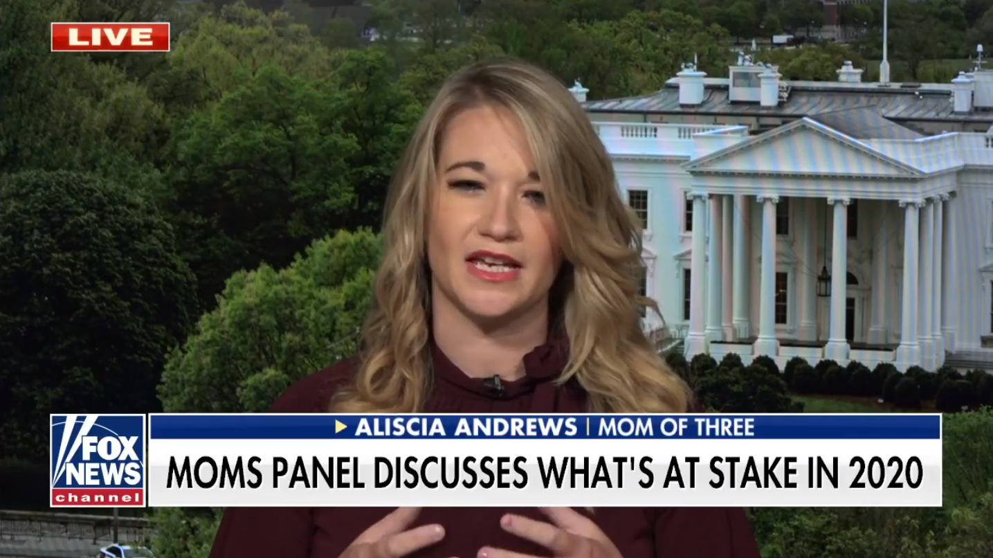 "WATCH: Aliscia Andrews Talks ""Mom Vote"" on Fox & Friends"