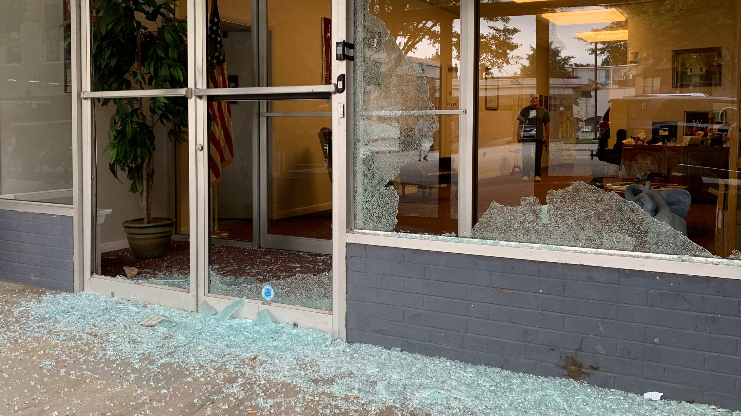 Virginia GOP Office Vandalized