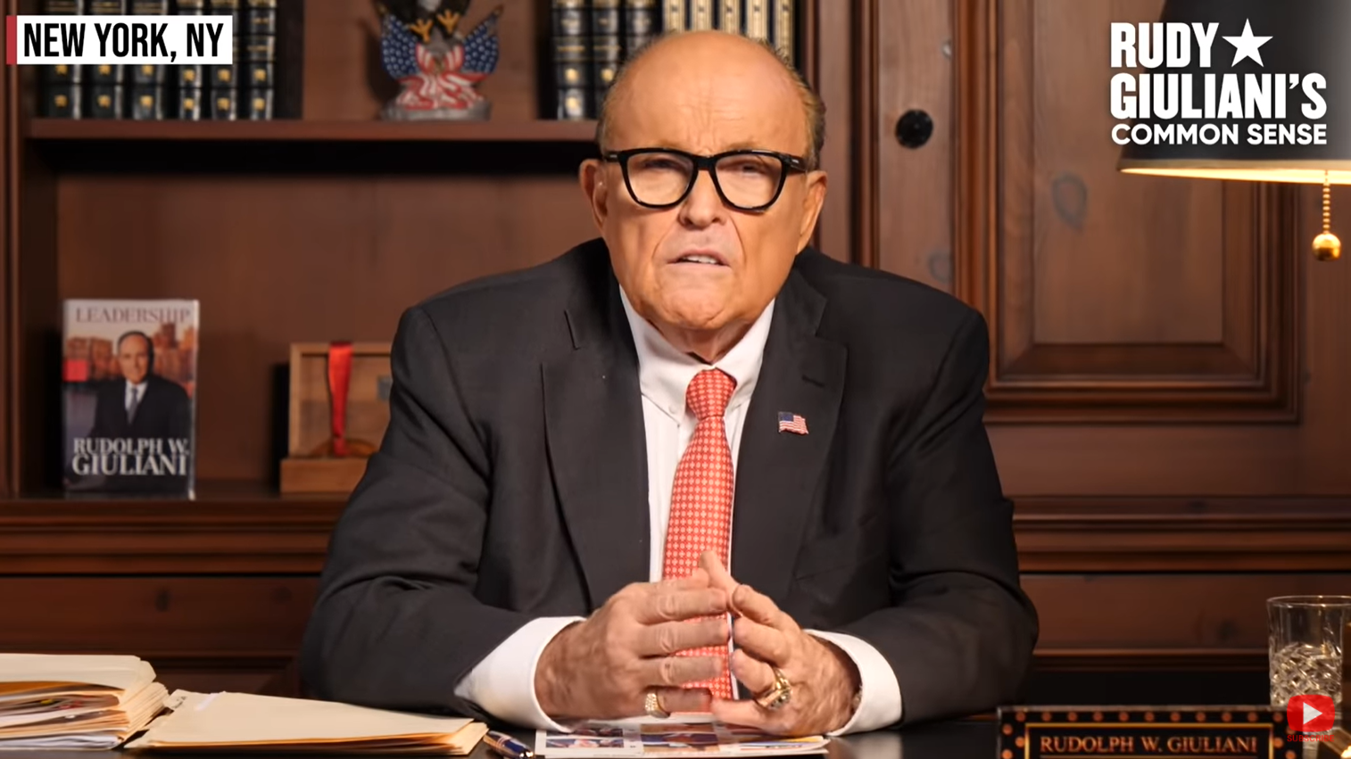 WATCH: Giuliani on Federal Crimes Uncovered in Biden Hard Drive