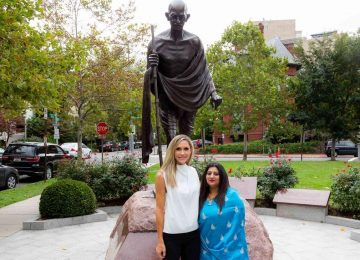 Lara Trump Offers Tribute on the 150th Birth Anniversary of Mahatma Gandhi