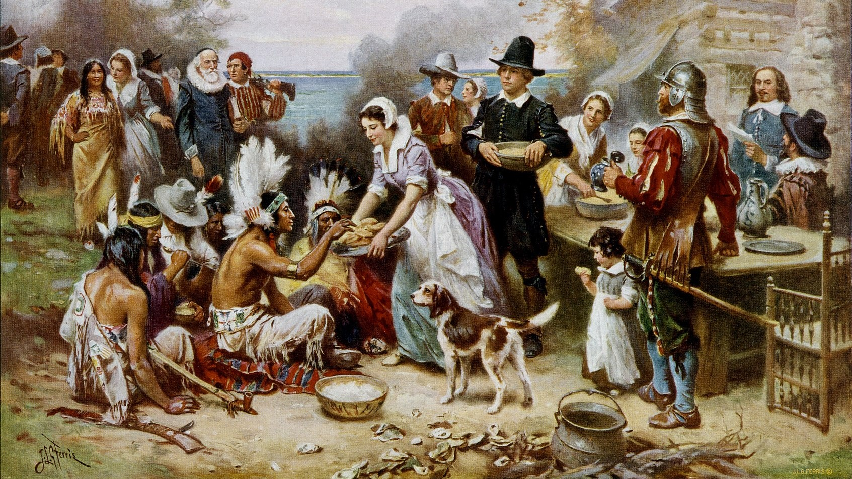 """The Real Story of Thanksgiving, going back to the very first early days of the Pilgrims arriving at Plymouth Rock, is that socialism failed."" — Rush Limbaugh