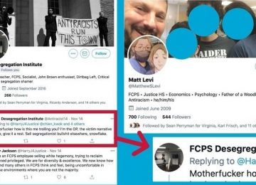 "PETITION: FCPS Must Discipline Radical, ""Hate-Filled"" Teacher"