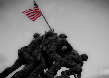 A Picture from Iwo Jima