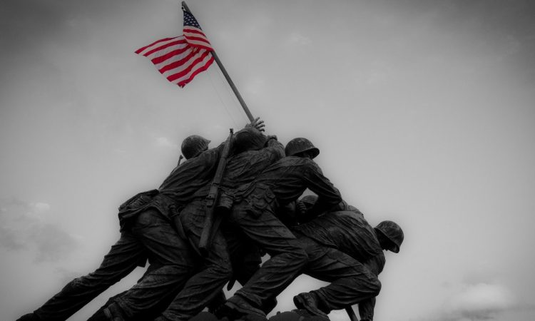 It was February 23, 1945, and you were looking at the American flag being raised on the summit of Mount Suribachi, on a godforsaken island called Iwo Jima.One of those photographers, Joe Rosenthal, took a picture that would soon become the most iconic of the American flag