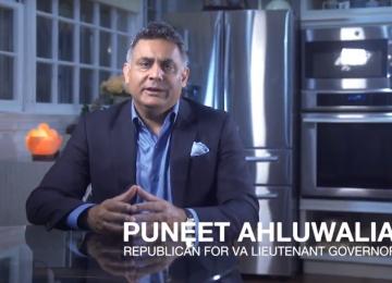 VIDEO: Puneet Ahluwalia Talks with Fairfax GOP