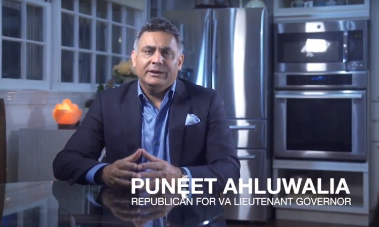 Puneet Ahluwalia, candidate for lieutenant governor, joined the Fairfax GOP live on Facebook last month for a wide-ranging interview about the issues facing Virginia.   A family man with a background in business, Ahluwalia