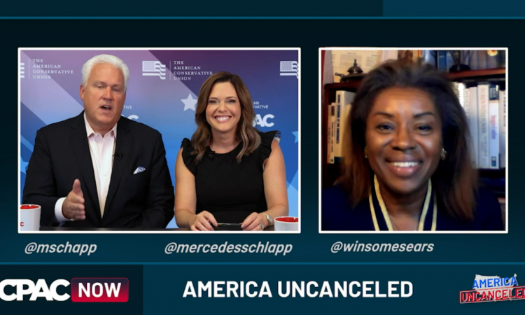 Winsome Sears, Republican candidate for Lieutenant Governor of Virginia, joined CPAC NOW